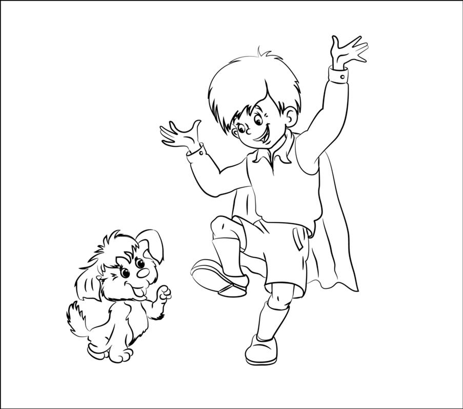 Раскраски для детей персонажи из мультфильмов